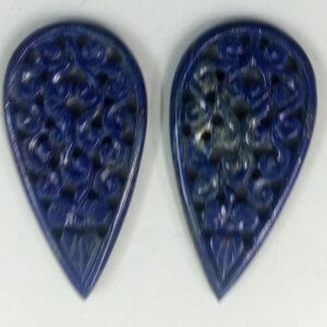 Lapis Gemstone Carving