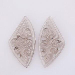 Smoky Gemstone Carving